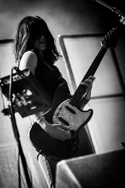 Warpaint @ Rock Werchter (© 2017 Timmy Haubrechts)