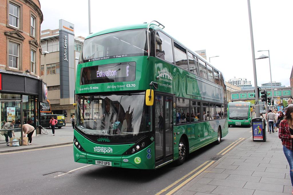404 YP17UFD Nottingham City Transport