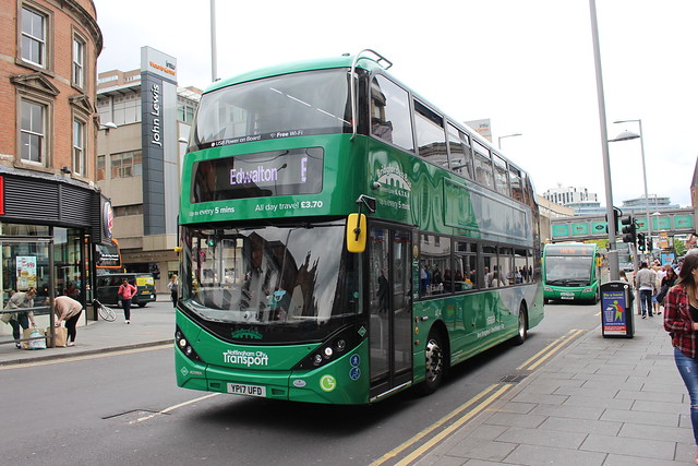 404 YP17UFD Nottingham City Transport