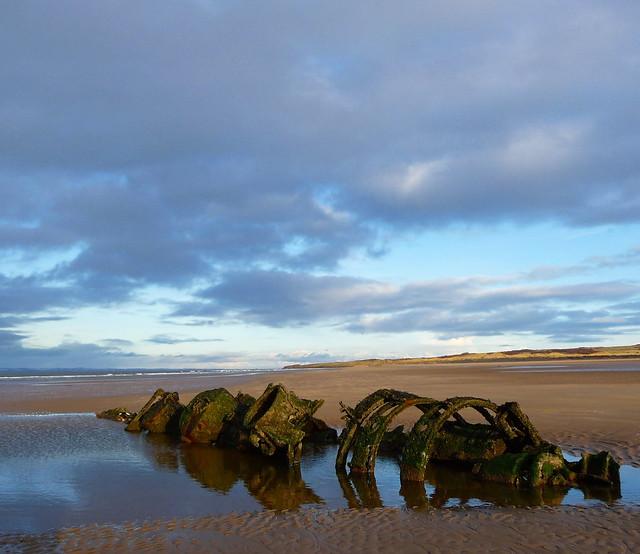 Submarine Wreck - Aberlady Bay