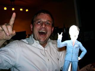 Peter & GW Bush