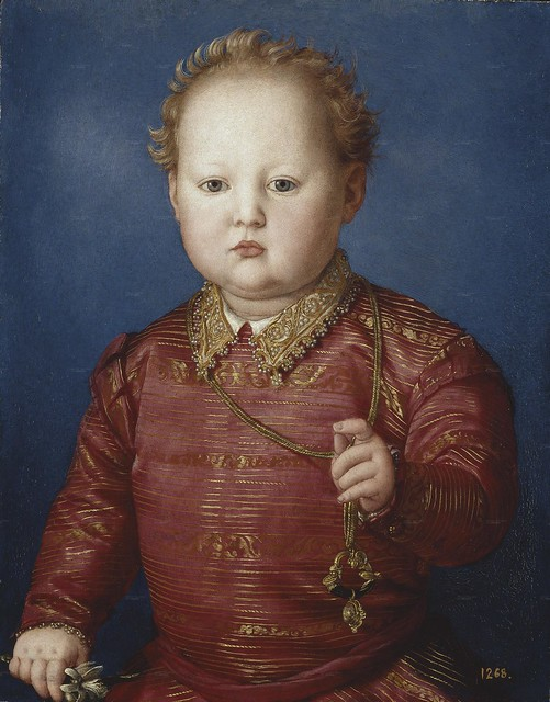 Agnolo Bronzino - Don Garcia de' Medici hr - Madrid, Prado