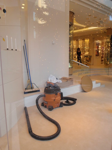 Vacuum in the Window of Ashley   by PinkMoose