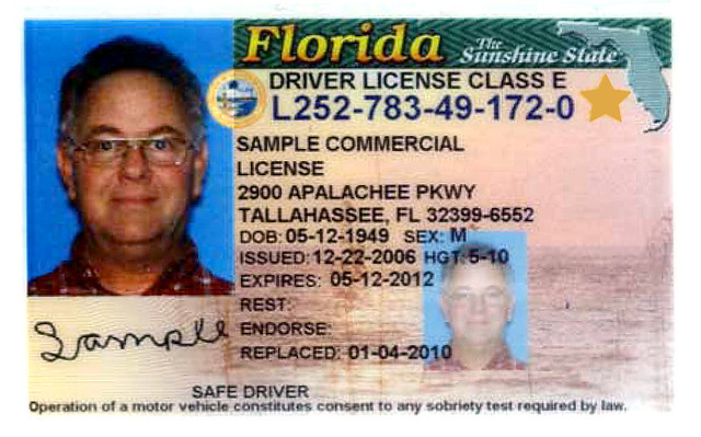 When You To Florida License Go A … Flickr Office Id Driver Example