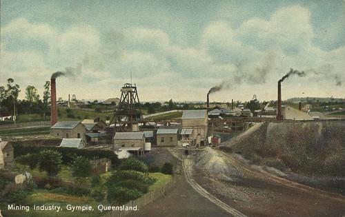 queensland statelibraryofqueensland slq colorpostcard colourpostcard regionalqueensland