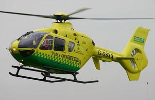 Essex Air Ambulance - G-SSXX Takeoff