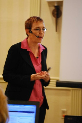 Denise Wakeman at Niche Affiliate Marketing System (NAMS) Workshop 3 | by rogercarr