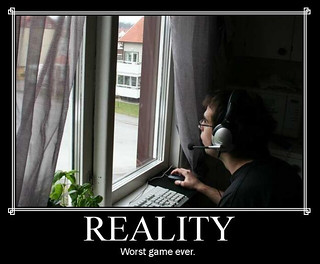 Reality - worst game ever | by Agent Smith
