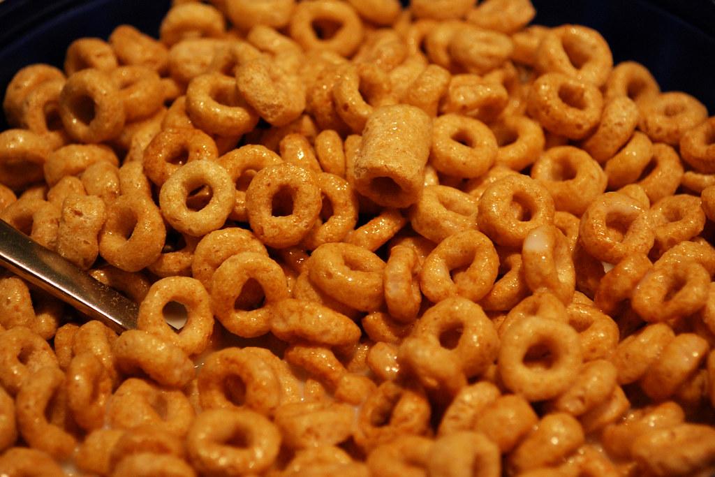 Honey Nut Cheerios This Was My Bowl Of Honey Nut Cheerios Flickr