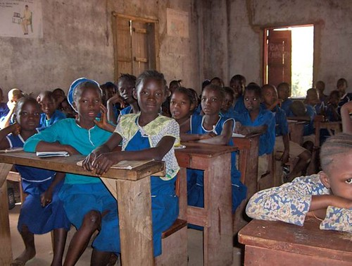 2009 kids at desks | by Trinity Jubilee Foundation