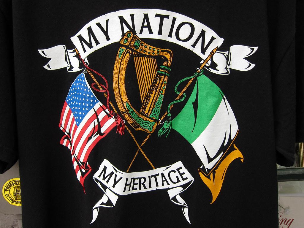 Irish American Heritage Teeshirt | Multicultural definition.… | Flickr