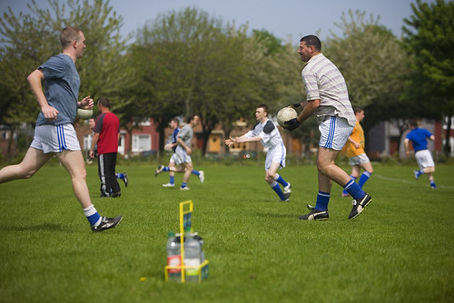 Big Goss In Action | by Naomh Fionnbarra GAA Club