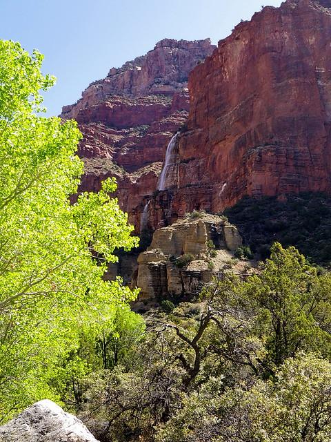 Approaching Cheyava Falls - Grand Canyon