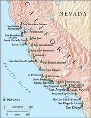 California Missions (HT Map)   History Today Magazine   Flickr on