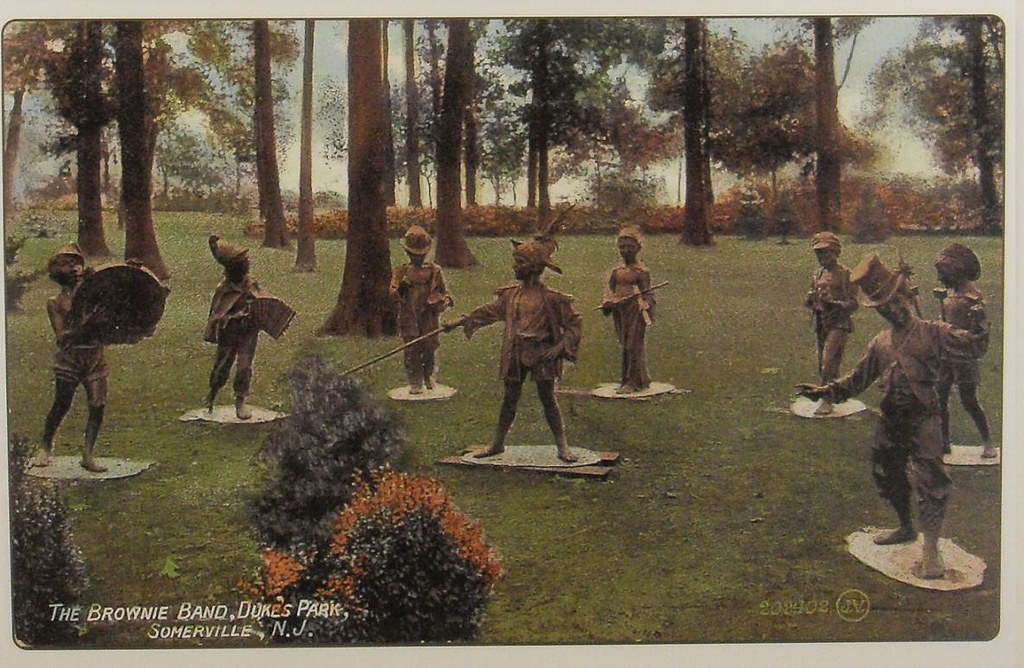 1910s THE DUKE ESTATE Somerville New Jersey BROWNIE BAND S