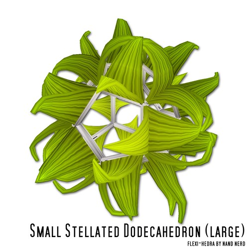 Small Stellated Dodecahedron (large) | by nandnerd