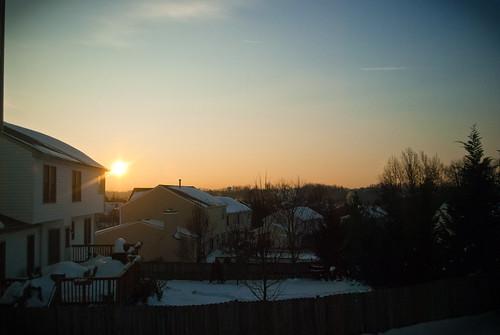 sunrise virginia nikon jonathan va 365 stafford d60 gagle 22dec09 jhgagle jonathangagle