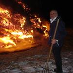 Kerstboomverbranding Kronkelweg Comité