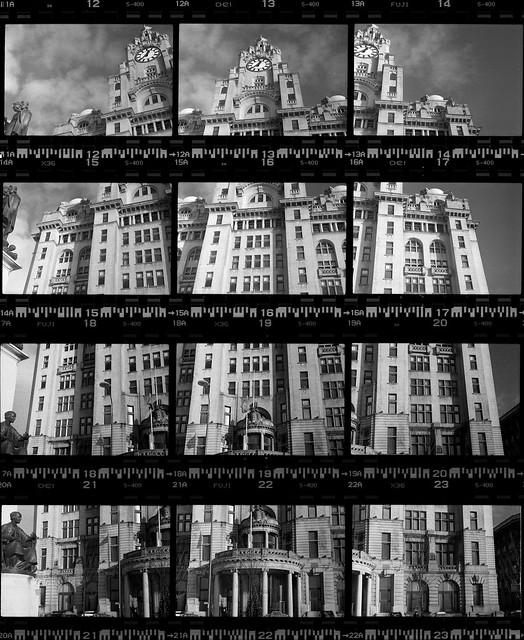 Royal Liver Building contact sheet