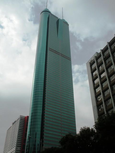 The Big Green Building in Shenzhen