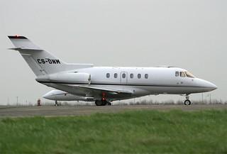 Netjets  Hawker 800  CS-DNM