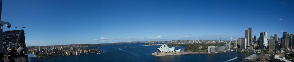 Sydney Harbour Bridge Vista