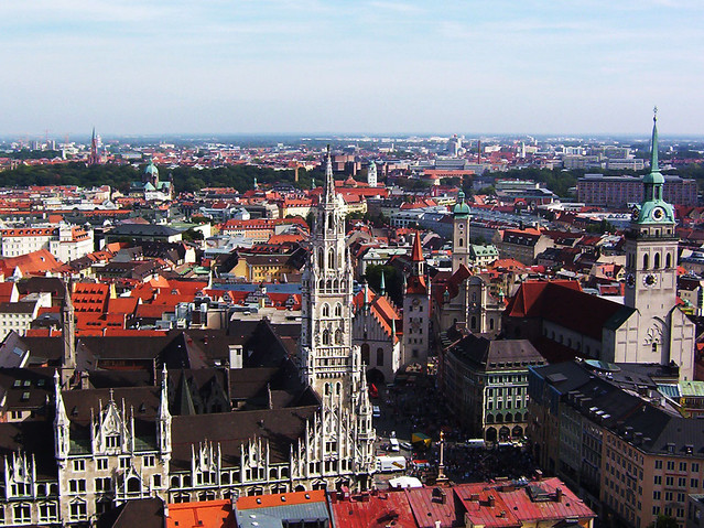 Munich in Afternoon