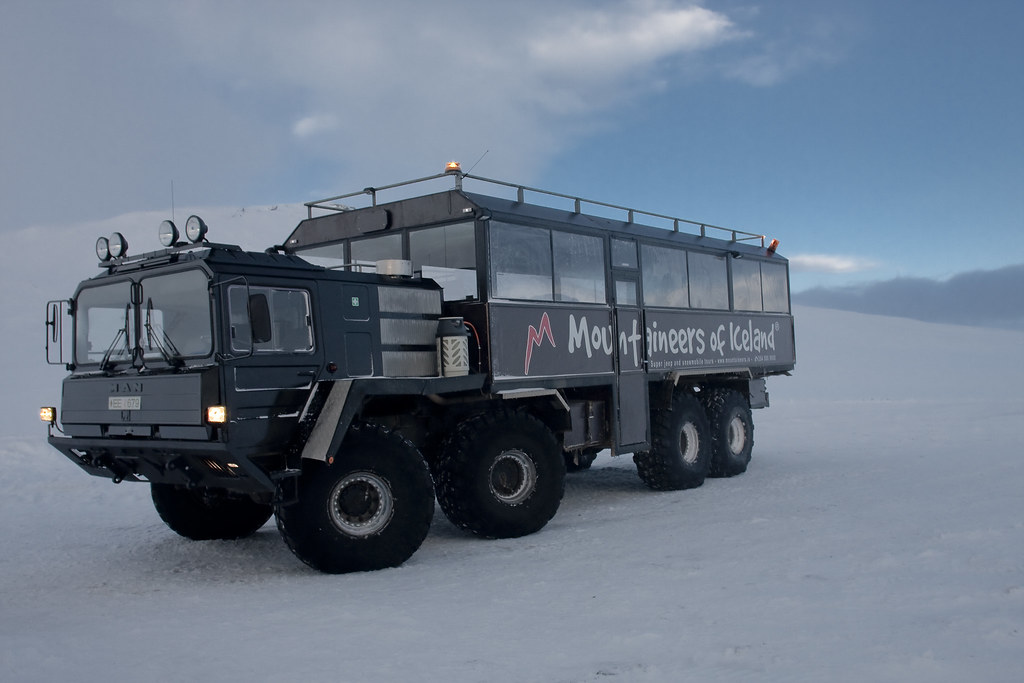 The Mountaineers MAN 8X8 Truck | This is a MAN 8x8 truck, wh