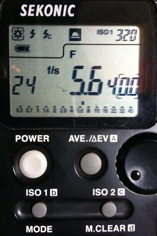 Virtual light meter   by Gripnerd