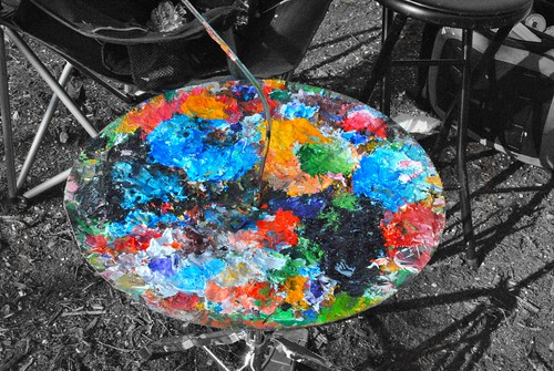 Paint Palette   by paulina spencer