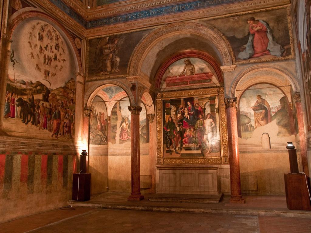 Cappella Bentivoglio in San Giacomo Maggiore - Bologna   Flickr