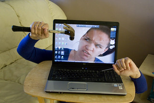 Stupid Computer!!! | by f1uffster (Jeanie)