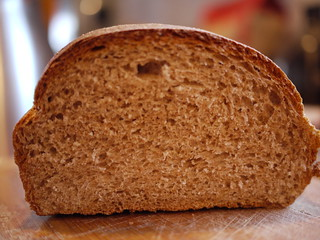 Whole Wheat Bread - Crumb | by grongar