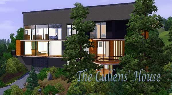 Sims 3 Gamer Twilight Cullen House By Schneekatze Modth Flickr