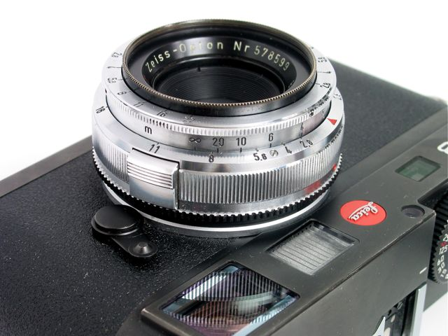 Zeiss-Opton Biogon 35mm/f2 8 converted to Leica M mount | Flickr
