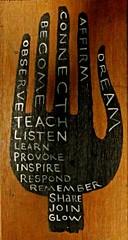 teach & listen | by denise carbonell