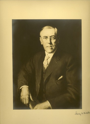 Woodrow Wilson Portrait   by Woodrow Wilson Presidential Library Archives