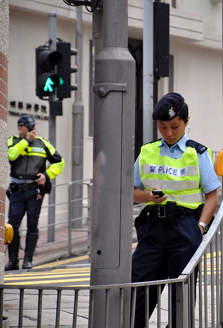 Policewoman | Hong Kong Police Force 香港警務處 | Lan Kwai Fong | Hong Kong | China