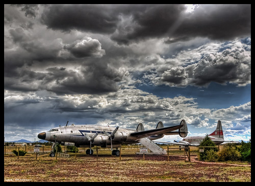 arizona nikon valle az connie douglas lockheed constellation macarthur topaz lucis d300 photomatix vc121 n422na