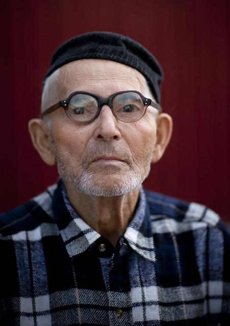 Kyrgyz old man, Kyrgyzstan