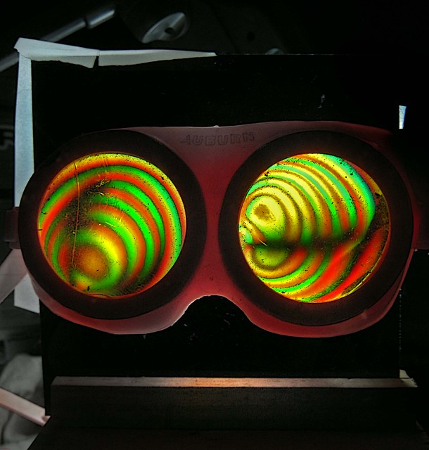 Biofield Detector Goggles Test Stand...