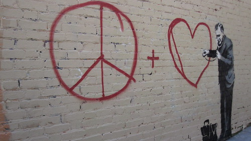 Banksy Peace + Love Checkup | by El Payo