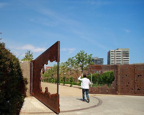 Parc del Centre del Poblenou, Barcelona, Espanha