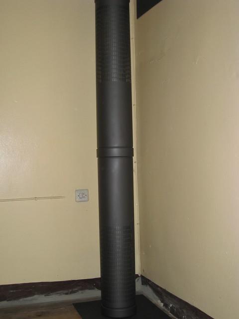 Conducto de tubería de salida de humos
