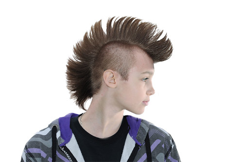 Photoshop Mohawk on a 9 year old | by MarksGonePublic