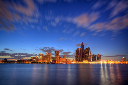 Detroit Skyline | by andorpro