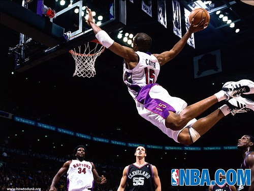 Vince Carter Dunk | by HowtoDunk.org