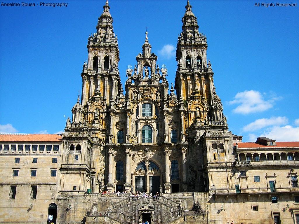 Espanha Catedral De Santiago De Compostela Santiago De C Flickr