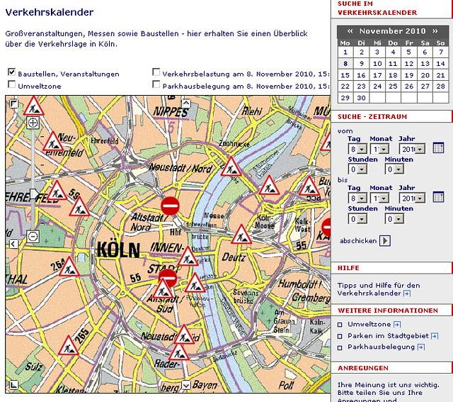 Staumeldungen Köln