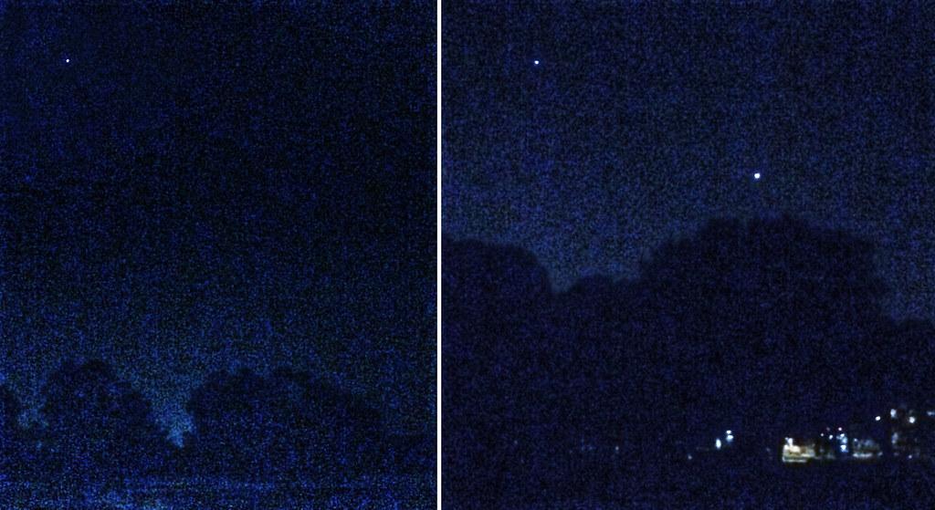Three Bright Planets Over Wingra Park >> Three Bright Planets Over Wingra Park More Experimental Ha